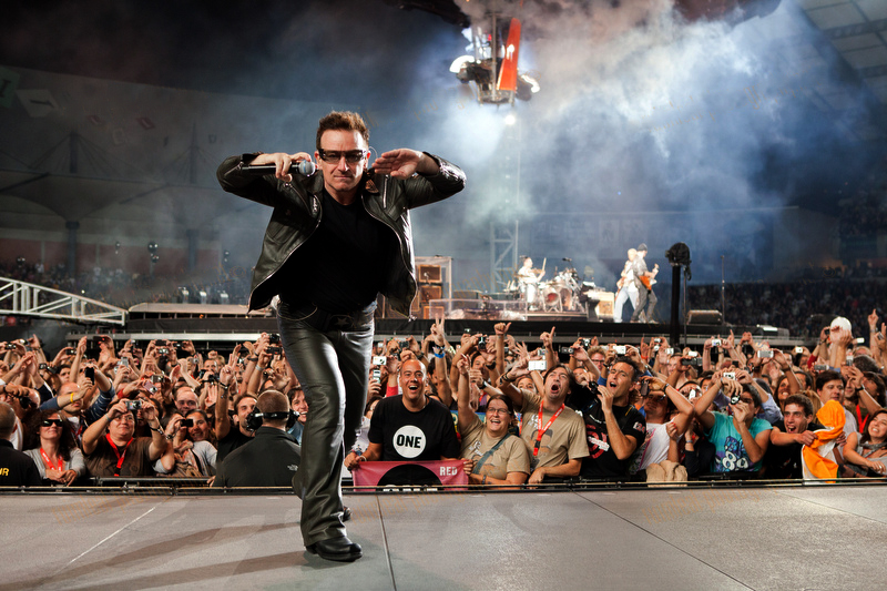 Does U2's Bono, a professing Christian, believe the Bible?
