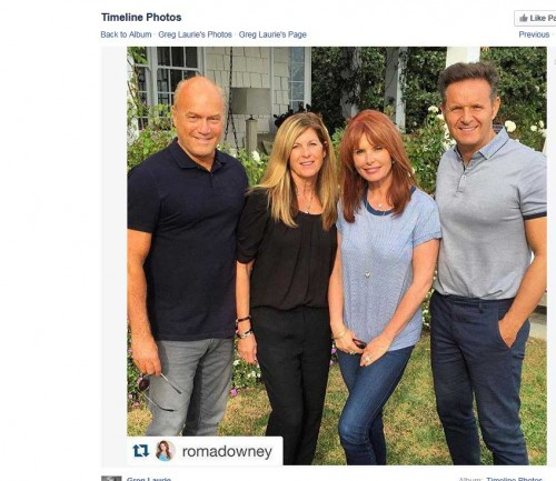 Greg Laurie and Roma Downey