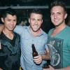 Photo courtesy News Dog Media -- Sebastian Tran, Adam Grant, and Shayne Curran live together as a threesome.