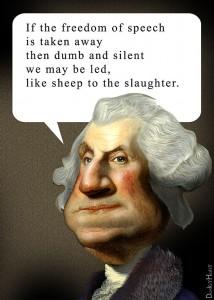 George Washington - sheep to slaughter