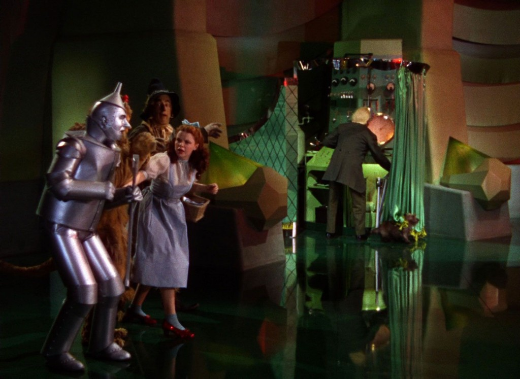 Man behind the curtain Wizard of Oz