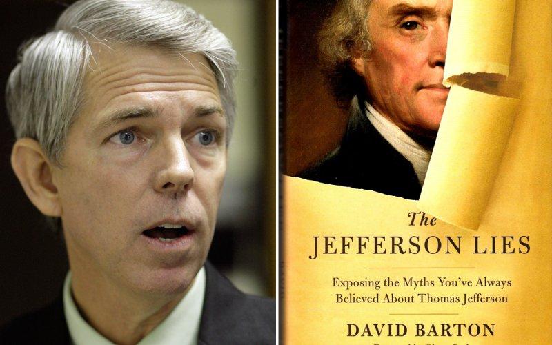 Controversial Christian historian David Barton…misinterpretations…errors…and Glenn Beck