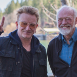 He still hasn't found what he's looking for (Bono meets Eugene Peterson)