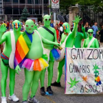 Should Christians dress as gay zombies to reach homosexuals with the Gospel?
