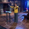Priscilla Shirer stands in a circle
