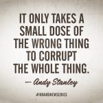 Andy Stanley's astonishing lack of discernment worsens