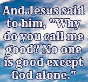 Mark 10:18