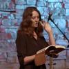 Sarah Yadley teaching men