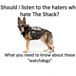Should I listen to haters who hate The Shack?