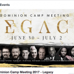 "Furtick joins Rod Parsley's 2017 N.A.R. ""Dominion Camp"""
