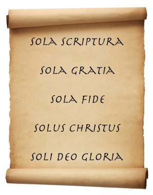 The Five Solas of the Protestant Deformation